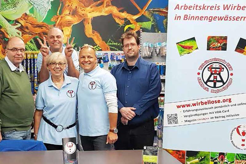 Die NRW-Regionalgruppe des AKWB informierte über die Wirbellosenhaltung